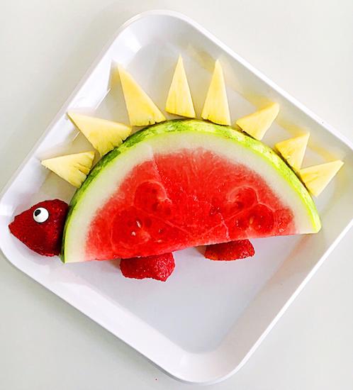Dinosaurio Con Fruta Cocina Saludable Recetas De Cocina Fáciles Recetas