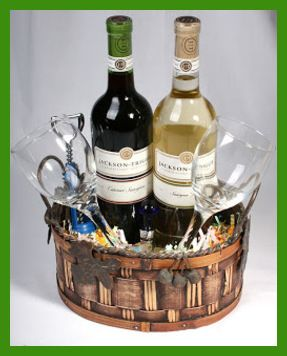 Christmas party gift basket ideas