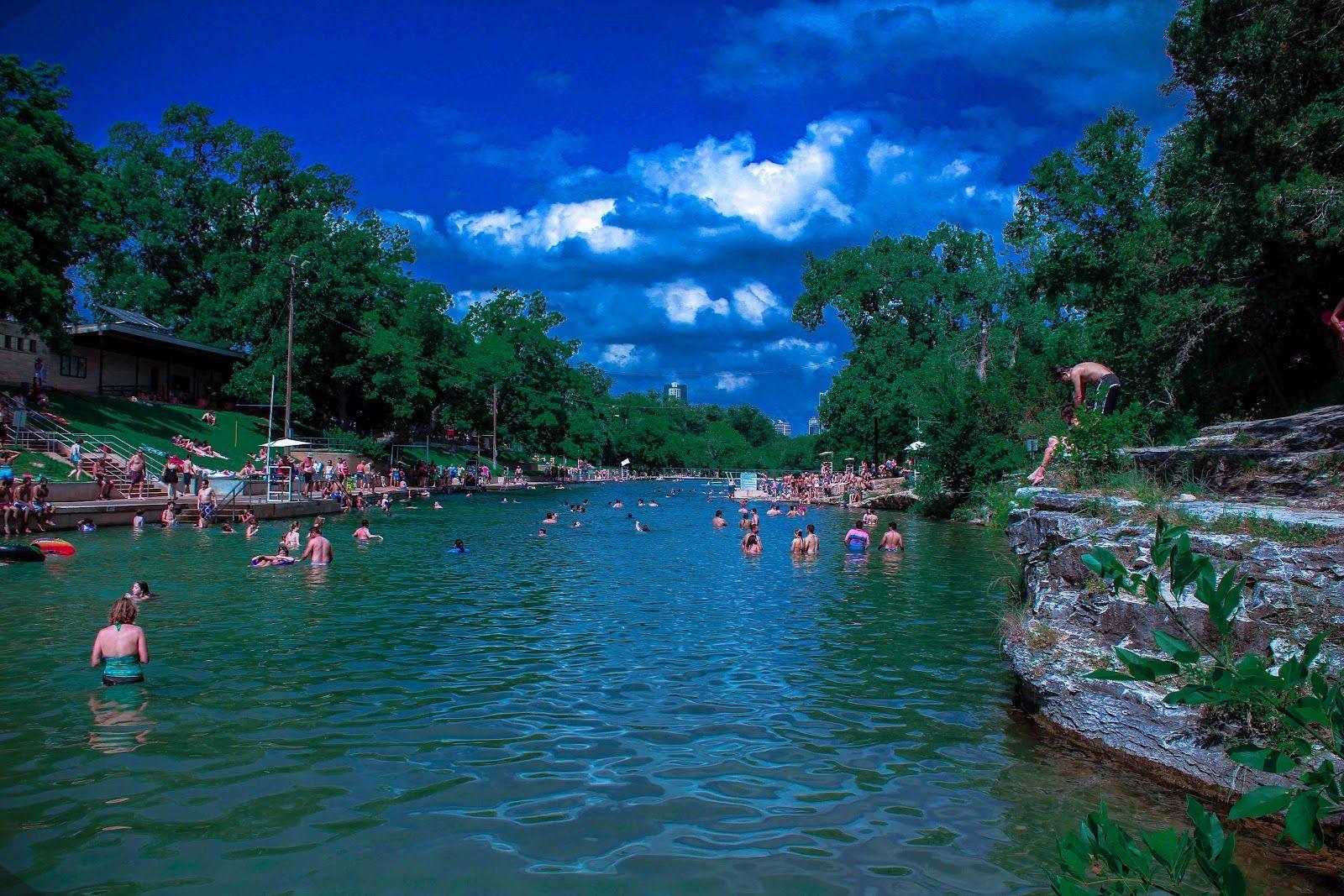 Barton Springs pool, Austin TX | Barton springs, Places