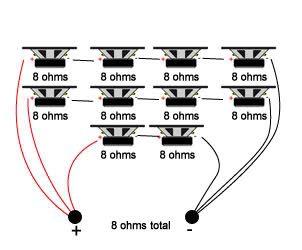 How to wire lots of piezo tweeters?  Speakerplans