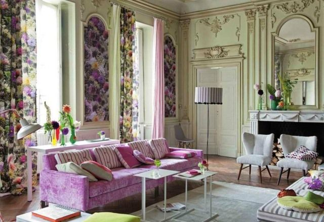 Für den französischen Stil sind verschnörkelte Wände typisch | home ...