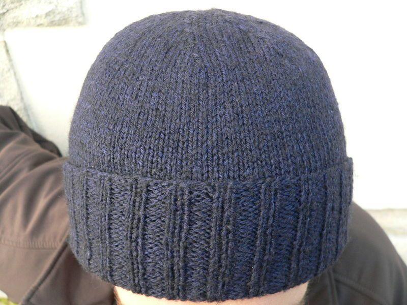 Modele tricot bonnet homme aiguille 4 tricot et crochet - Comment tricoter un bonnet pour bebe ...