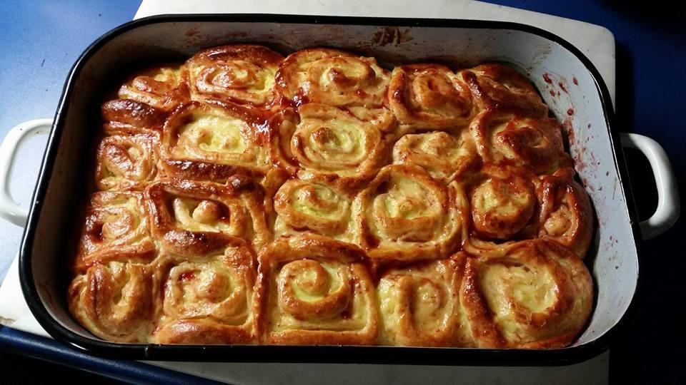 Puddingschnecken #pizzateigmittrockenhefe