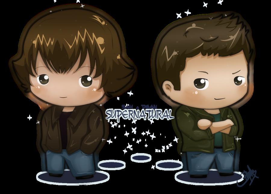 Sam y Dean by PityMau on deviantART Supernatural comic