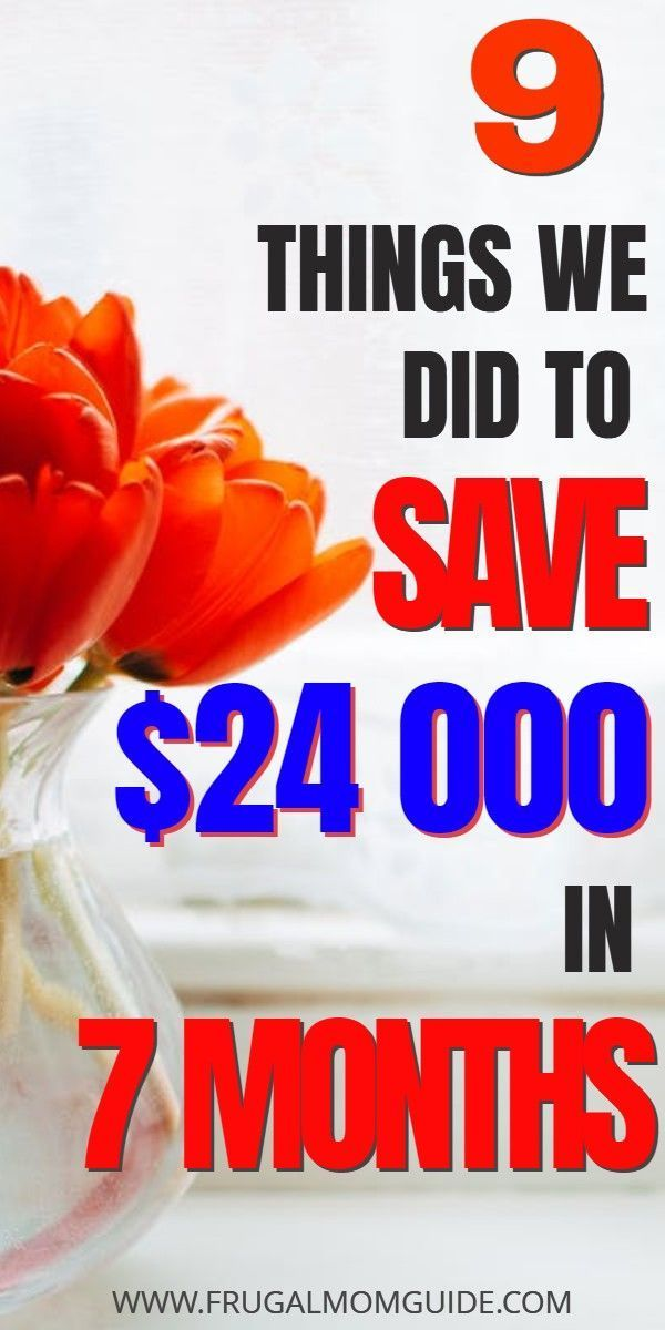 So haben wir in 7 Monaten 24.000 US-Dollar bei einem Einkommen gespart