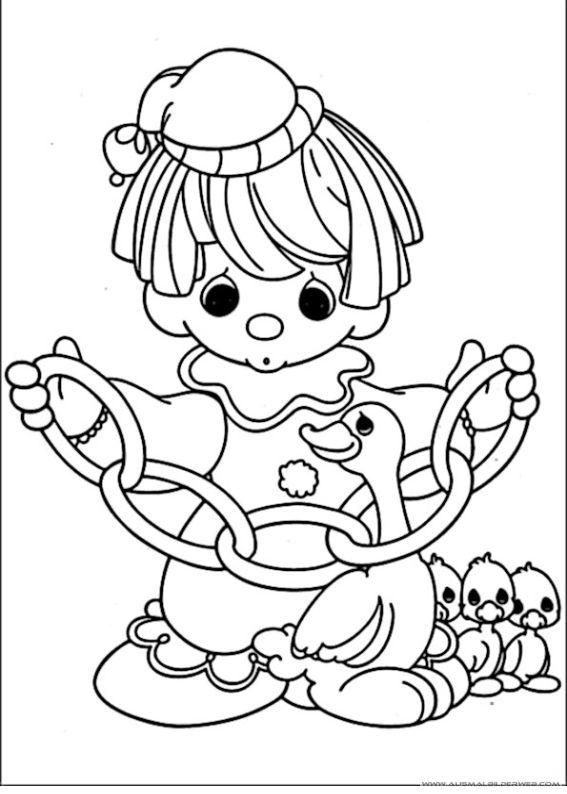 ausmaibilder clown3  ausmalbilder für kinder