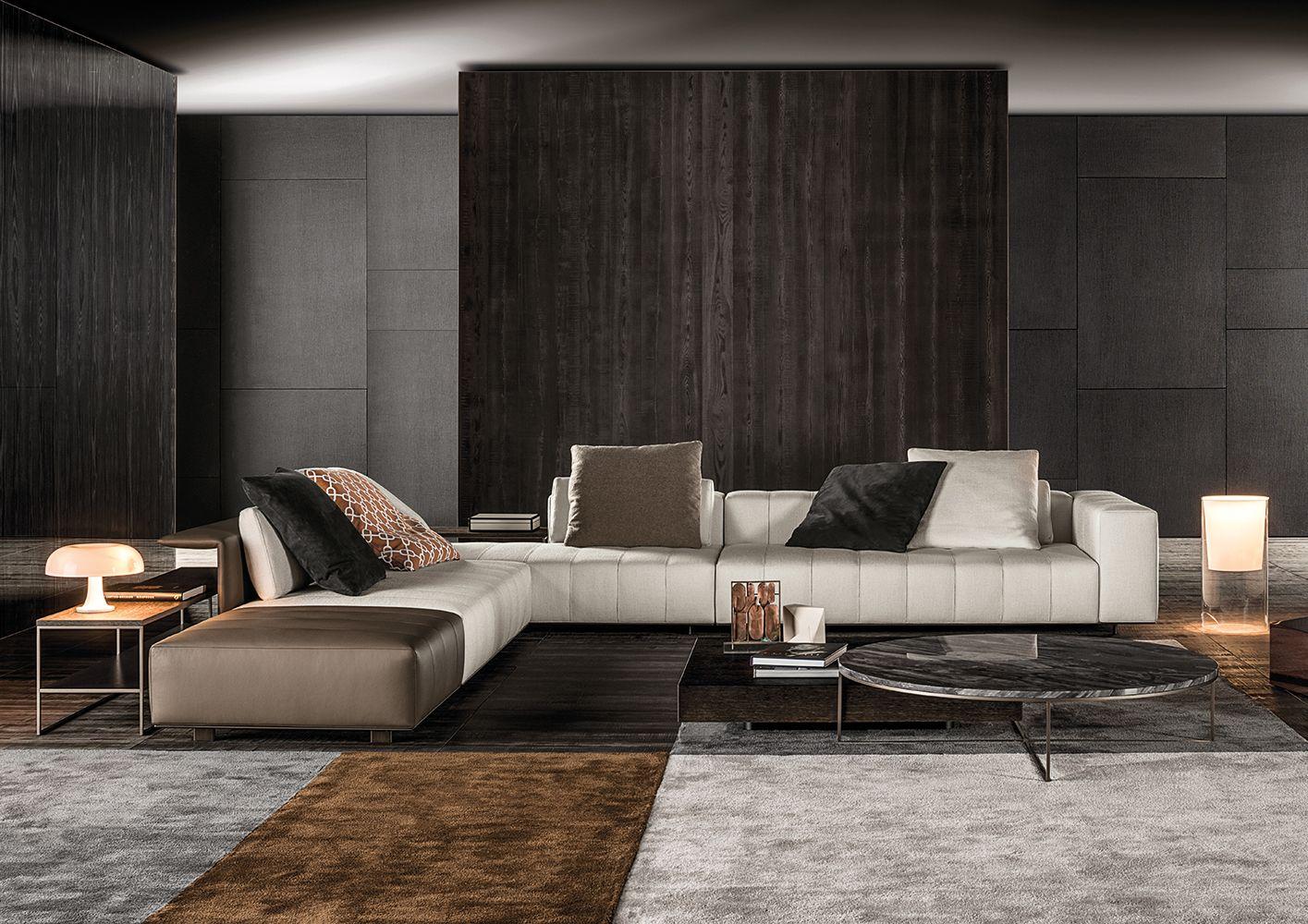 Minotti Ipad Freeman Tailor Sofas En Luxury Sofa Design Furniture Design Living Room Designs