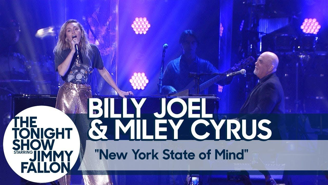 Billy Joel and Miley Cyrus Perform New York State of Mind at
