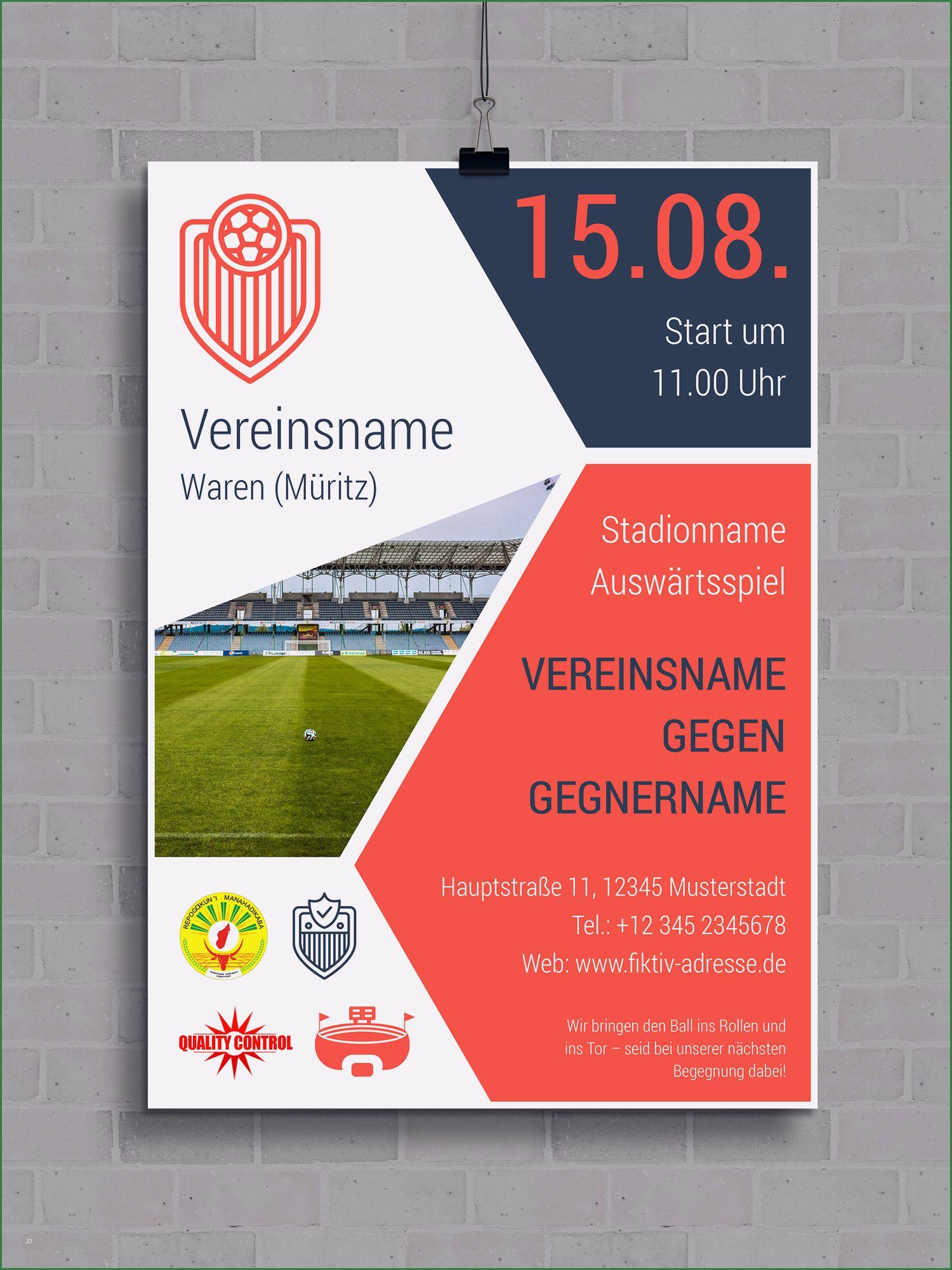 30 Wunderbar Plakat Layout Vorlagen Abbildung In 2020 Spielplan Flyer Vorlage Sportverein
