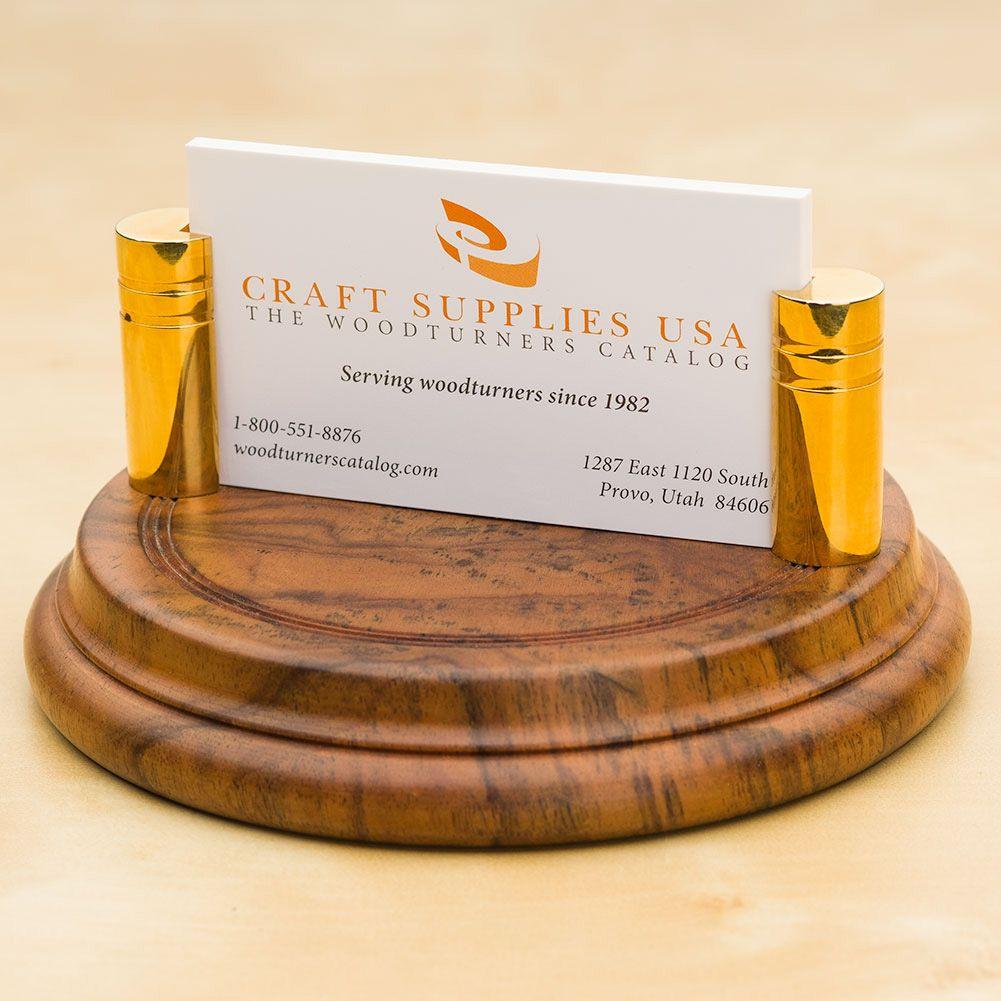 Artisan business card holder kit craft supplies usa