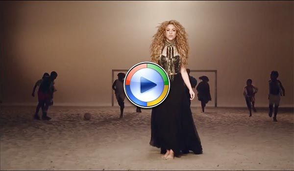 Fifa World Cup Brazil 2014 Official Song By Shakira La La La Fifa World Cup Shakira Fifa