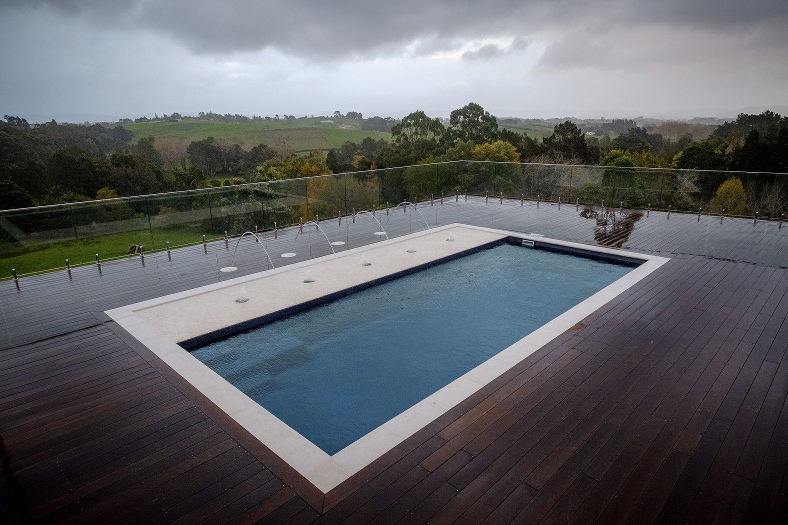 Madeira Swimming Pool with Sunpod, deck jets and bubblers ...