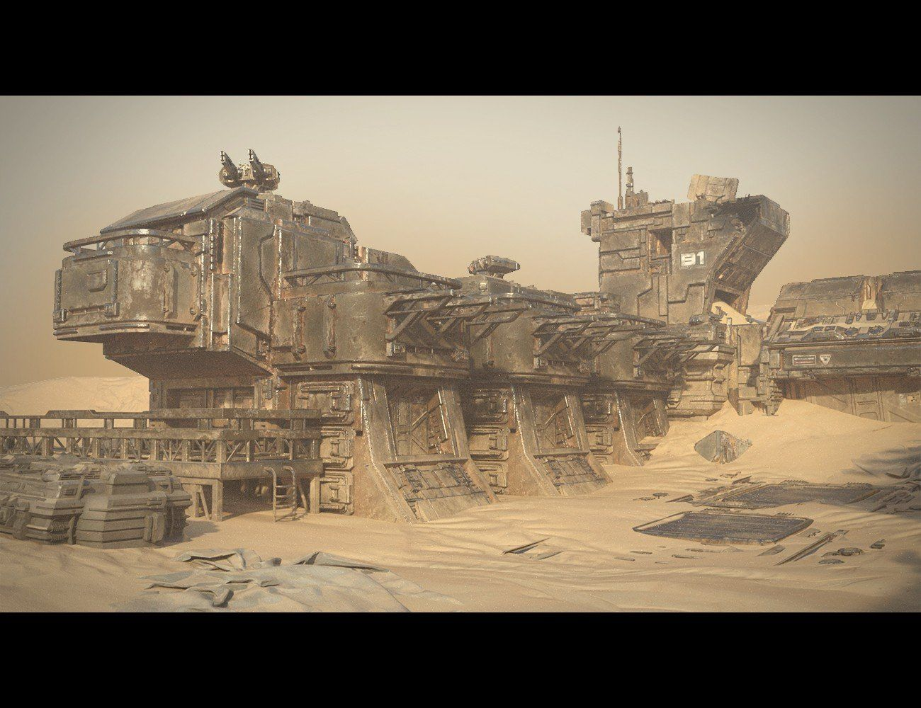Sci-fi Tank | 3D Models and 3D Software by Daz 3D | Sci fi