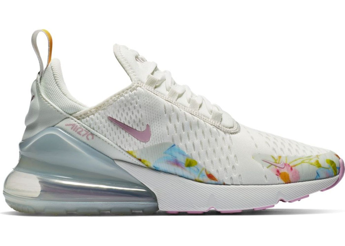 size 40 52bab 07701 Nike 270 White Floral (W) | Kicks in 2019 | Nike air max for ...