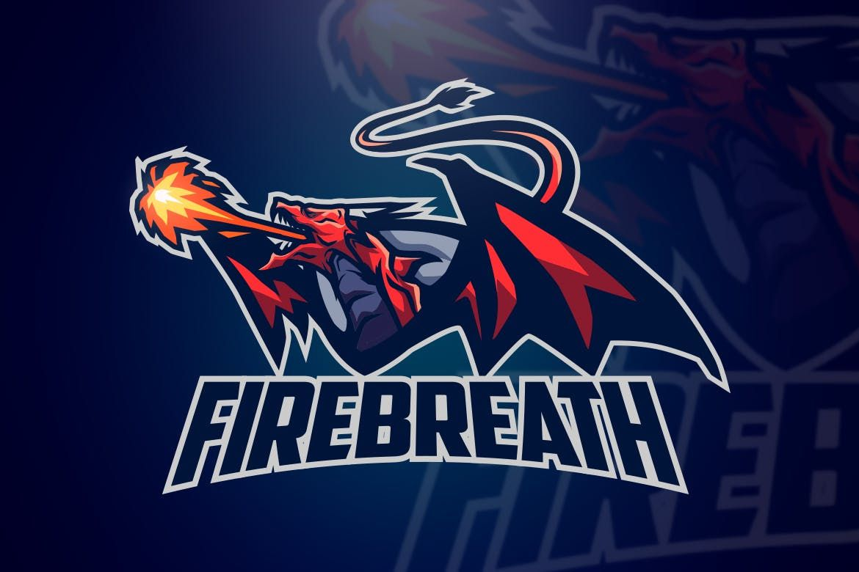 A Beautiful Dragon Esports Logo Great For Gamer Esports Youtuber Film Maker And Any Related Activity Or Company F Esports Logo Logo Design Art Logo Dragon