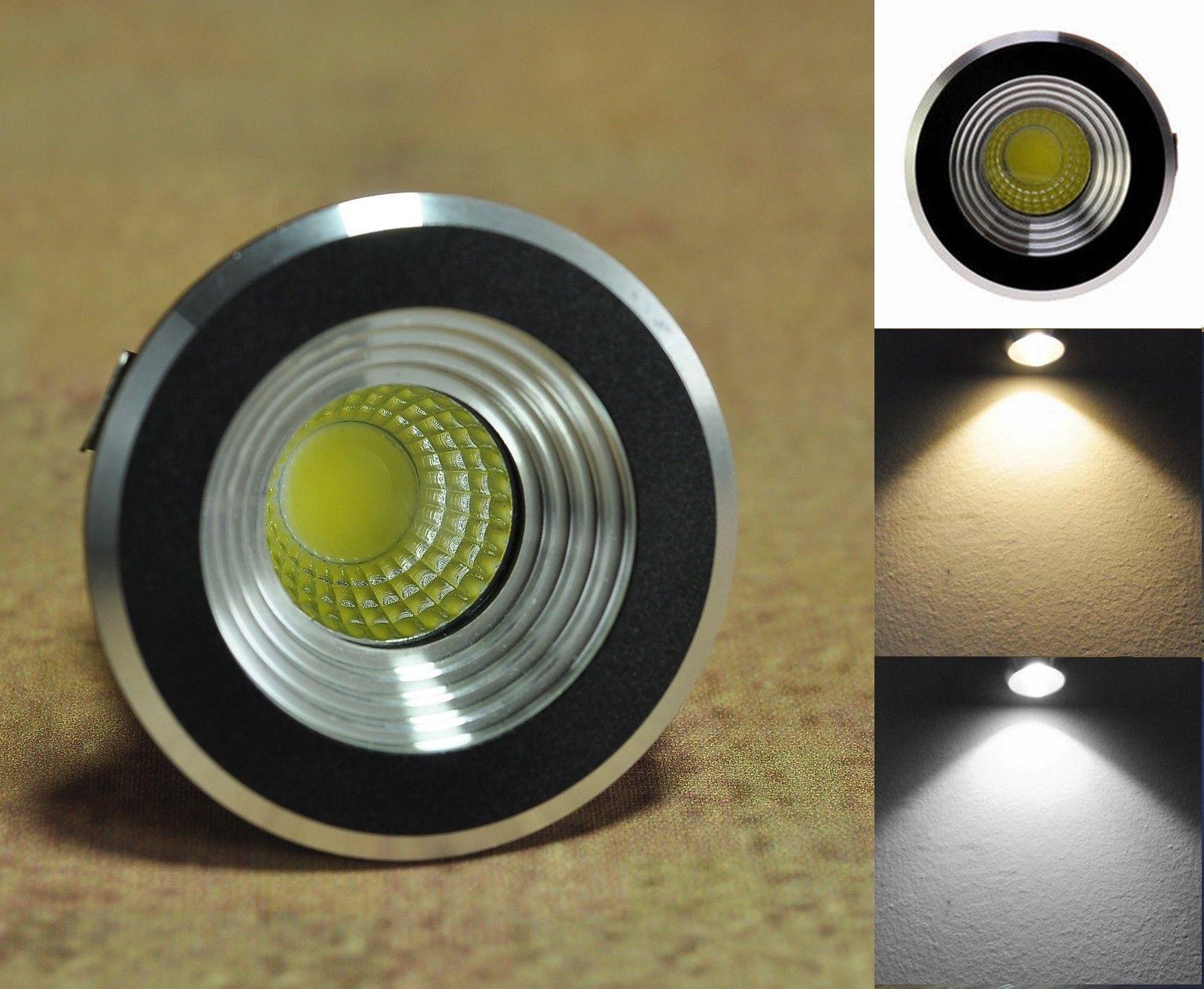 10 X 3w Led Mini Spot Lampe Encastre Plafond Downlight Avec Transformateur 220v Ebay Led Plafond Lampe