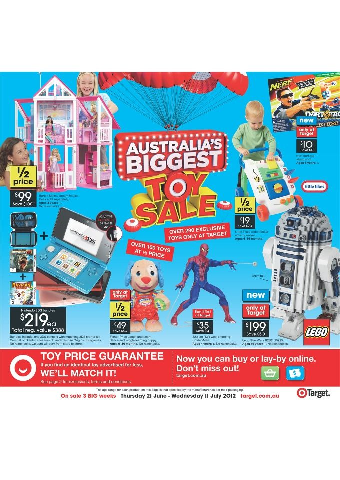 Target Catalogue Australia S Biggest Toy Sale Lasoo