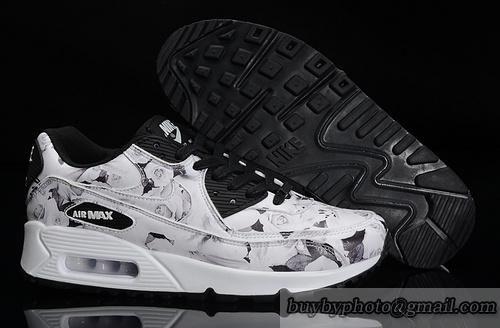 nike air max 90 womens shoes white rose