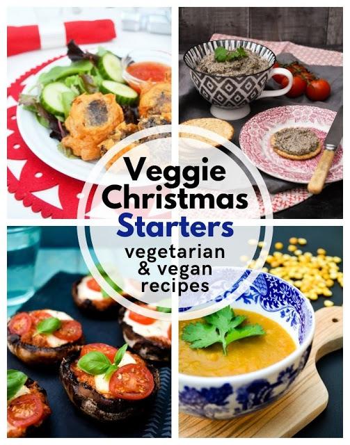 Veggie Christmas Christmas vegetarian and vegan starter
