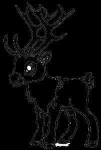Dibujos De Renos Tutorial Aprende A Colorear Un Reno Facil Dibujos De Renos Dibujos De Navidad Faciles Dibujos