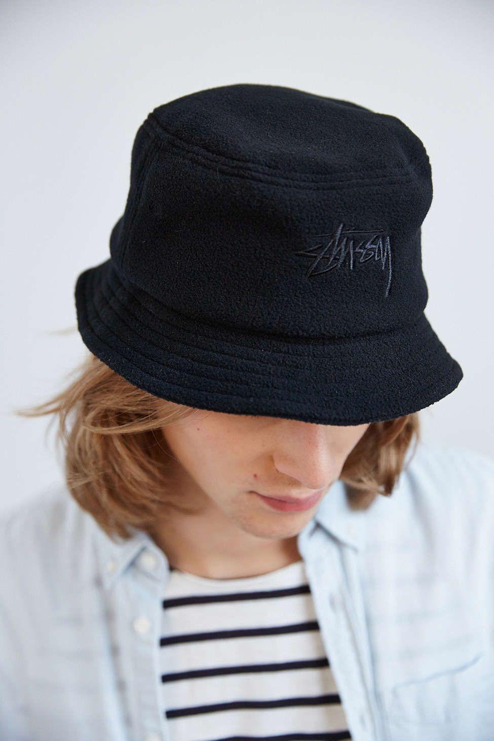 Stussy X Uo Polar Fleece Bucket Hat Stussy Polar Fleece Bucket Hat