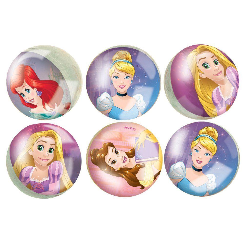 Disney princess bouncy ball party favors 6ct toy balls
