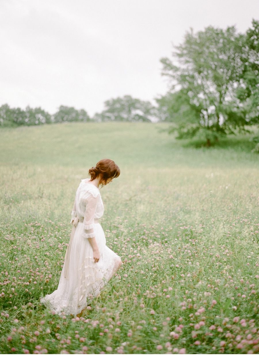 Anne of green gables wedding dress  Meadow Inspiration for the Modern Bride  Mood board  mini film