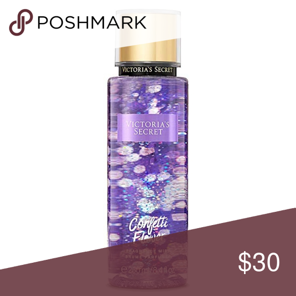 Limited Edition Victoria's Secret Confetti Flower Limited Edition Victoria's Secret Confetti Flower Body Spray NWT  Pop the bubbly! From a glam midnight bash to a cozy party for two, there's a limited-edition scent for every occasion.   Confetti Flower: Sparkling petals and lychee martinis. Late-night crush. After party. All is bright.  Limited edition  250 ml/8.4 fl. oz.  Discontinued. Sold out in stores.   *See bundle listing for lotion and spray  Open to reasonable offers  Limited Edition V #lycheemartini