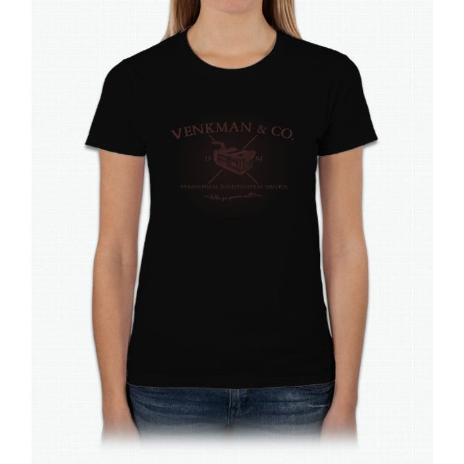 Venkman & Co Bill Murray Womens T-Shirt