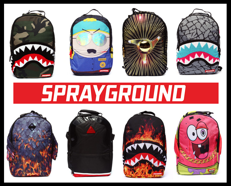 fd75ed9d Sprayground Backpacks - New Streetwear Arrivals | Streetwear ...