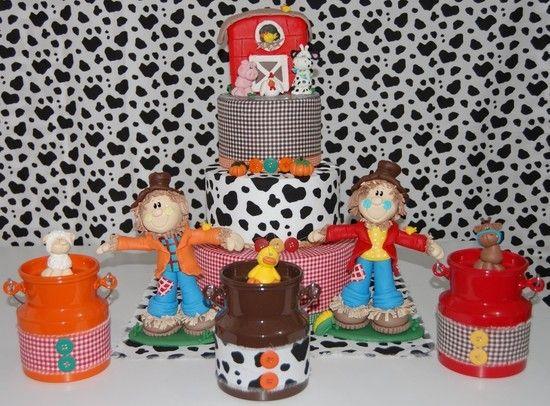 Kit Festa Fazendinha - Infinita Arte for Baby