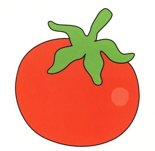 Tomate Art Drawings Simple Cartoon Clip Art Clip Art