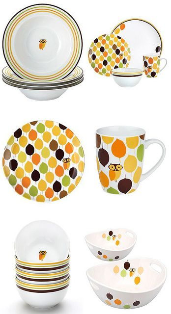 Rachael Ray Little Hoot Dinnerware Collection. I donu0027t have the serving bowls Iu0027ll have to keep an eye out for those  sc 1 st  Pinterest & Rachael Ray: Little Hoot | Kitchen ware Dinnerware and Ware F.C.