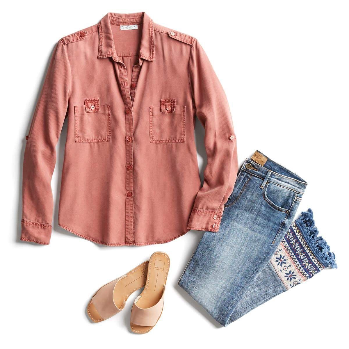 Ootd outfit of the day stitch fix style quiz referral link