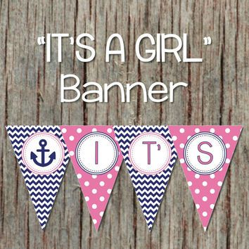 Attractive Best Pink Nautical Baby Shower Products On Wanelo