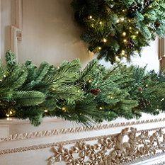 Majestic Cordless Greenery Collection Christmas Greenery