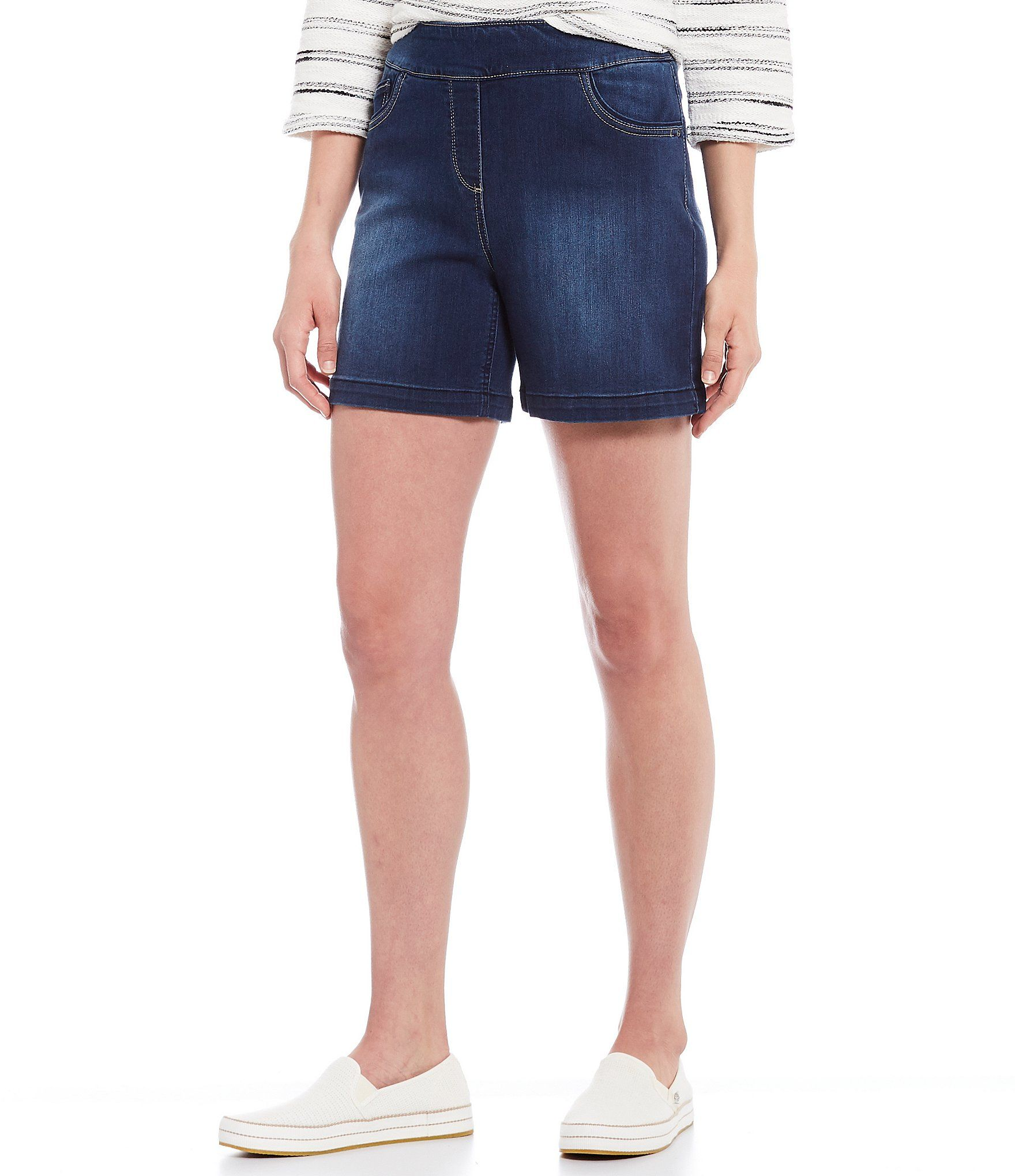 Westbound Petite Size the PARK AVE fit Shorts Dillard's