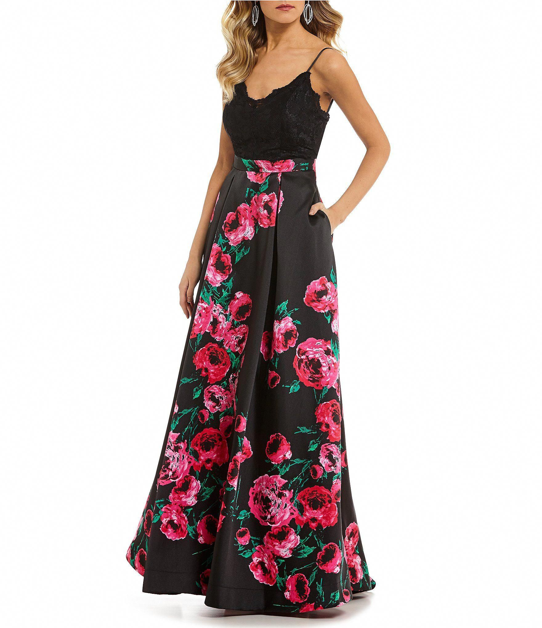 fdc9687a7e7 Shop for B. Darlin Lace Bodice Floral Ball Gown at Dillards.com. Visit  Dillards.com to find clothing