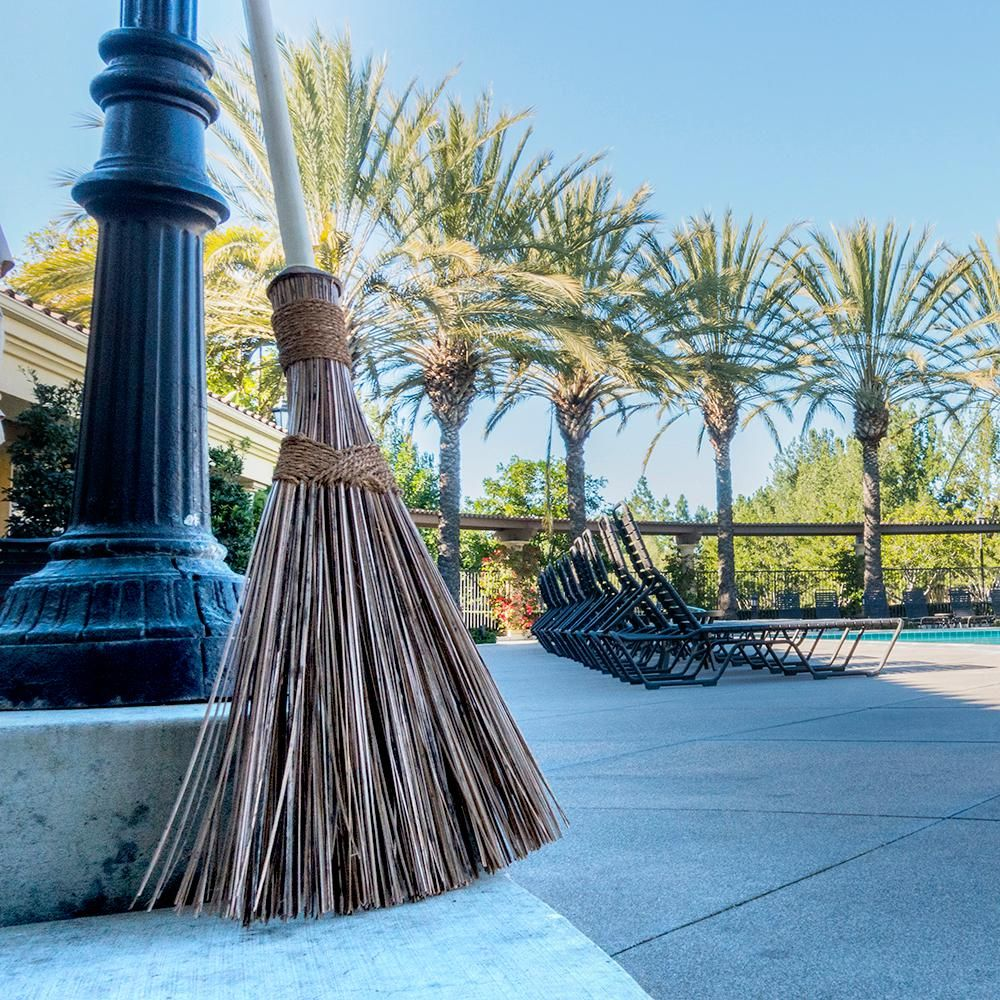 Ultimate Colored Coconut Garden Broom