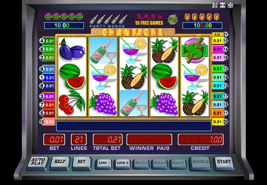 Играть шампанское автоматы игровые предлагаю сценарий денежных призов в казино