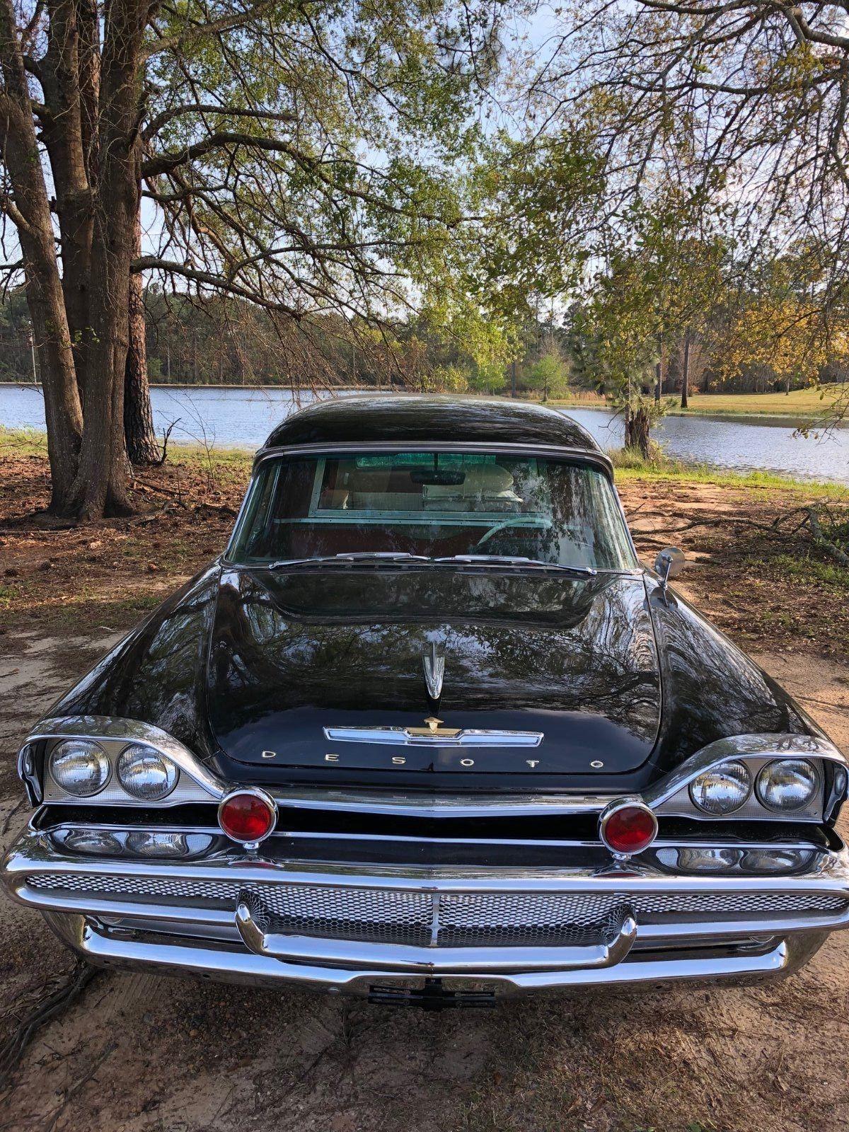 Rare And Original 1958 Desoto Ambulance Hearse Combination