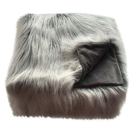 Faux Fur Throw Blanket White Threshold™ Target Dorm Inspo Enchanting Threshold White Faux Fur Throw Blanket