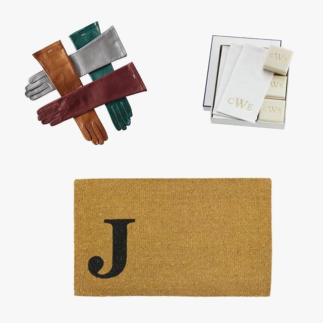 The Best Monogrammed And Bespoke Gifts For The Holiday