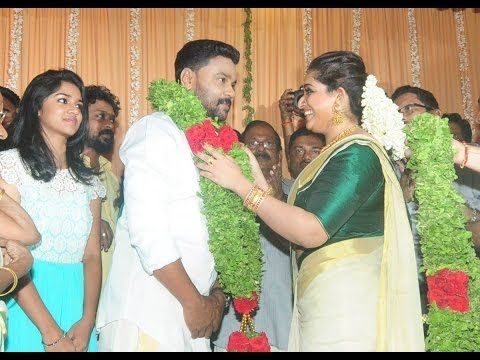 Actor Dileep And Kavya Madhavan Get Married Wedding Photos Tamil Cinema News You
