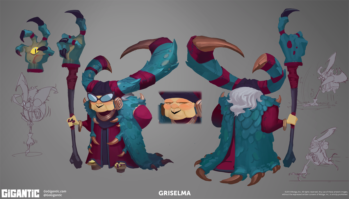 You voted for more concept art, so here's a sneak peek at one of Griselmas!