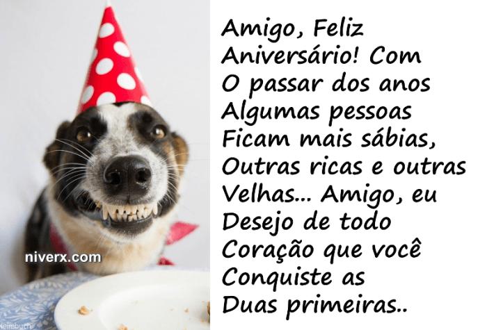 Mensagem De Aniversário Engraçado Para Amiga: Feliz-Aniversário-engraçado-para-amigo-celular-e-whatsapp