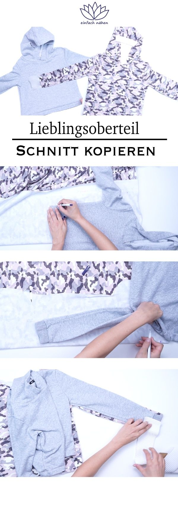 Photo of Lieblingsoberteil kopieren | einfach nähen – Tipps und Tricks rund ums Nähen