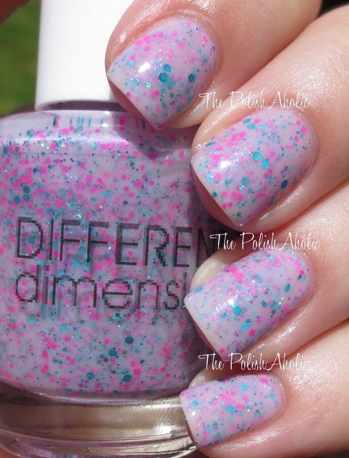The PolishAholic: Different Dimension Summer 2014 Sea You On The Other Tide Collection Swatches & Review