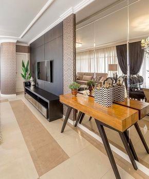 101 Mil Curtidas 65 Comentários   Arquitetura Decor & Mais Prepossessing No Furniture Living Room Inspiration Design