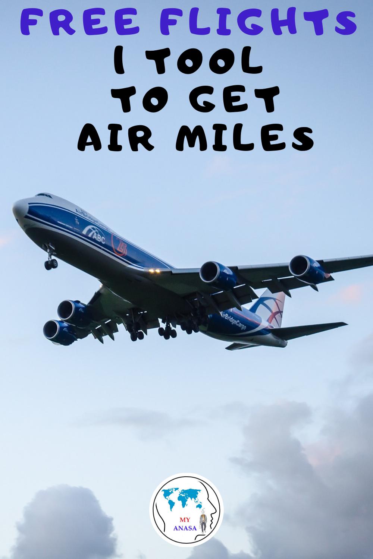 Free Flights: 1 Tool, Many Air Miles. Use it!
